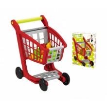 001225 Возик для супермаркету з продуктами харчування