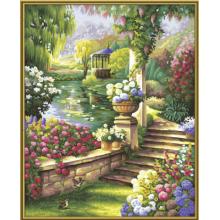 9130379 Художній творчий набір Райський сад, 40х50 см