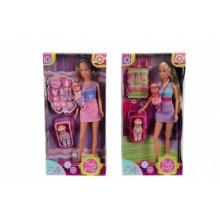 5730211 Ляльковий набір Штеффі Няня, 2 види