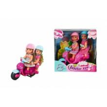 5730485 Ляльки Еві Весела подорож на скутері з шоломами