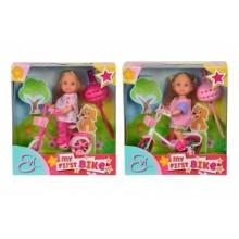 5731715 Лялька Еві на велосипеді, 2 види