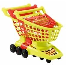 001220 Возик для супермаркету з рухомою задньою стінкою