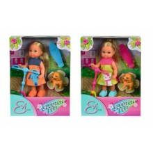 5732295 Ляльковий набір Еві Веселі розваги з песиком