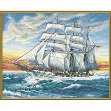 9130358 Художній творчий набір Корабель, 50х40 см