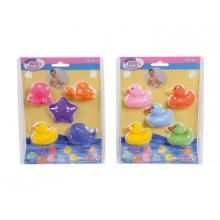 4010371 Набір водоплавних тваринок, 5 шт, 5 см, 2 види
