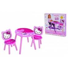 0003133 Ігровий набір Eichhorn Hello Kitty. Стіл та стіль
