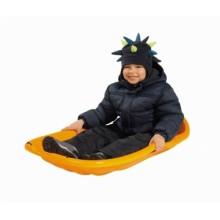 0056758 Великі пластмасові санки для катання по снігу