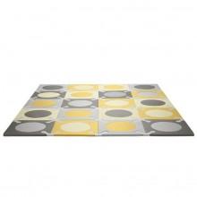 Игровой коврик-пазл Playspot Grey/Gold