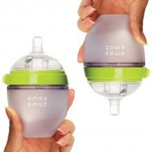 Набор антиколиковых бутылочек Comotomo по 150мл (Green)