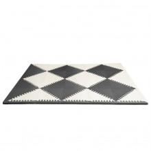 Игровой коврик-пазл Playspot Geo Black/Cream