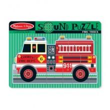 Звуковой пазл – «Пожарная машина» MD731