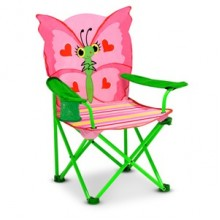 Раскладной детский стульчик Бабочка Белла MD6173