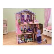 Кукольный домик с мебелью Марзен 65082