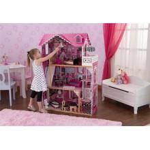 Кукольный домик с мебелью Амелия 65093