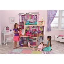 Кукольный домик с мебелью для кукол 45см Elegant 65830