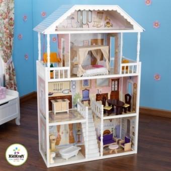 Кукольный домик с мебелью Саванна 65023
