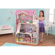 Кукольный домик с мебелью Аннабель 65079