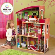 Кукольный домик с мебелью Модерн 65156
