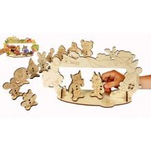 Конструктор деревянный Детский театр