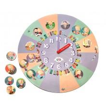 Распорядок дня для девочек 6+. Часы-планнер