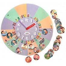 Распорядок дня для мальчиков 6+. Часы-планнер